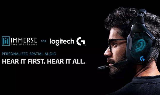 Отправьте Logitech снимок своего уха, чтобы получить уникальное преимущество в