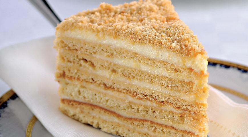 Торт «Медовик» за 30 минут
