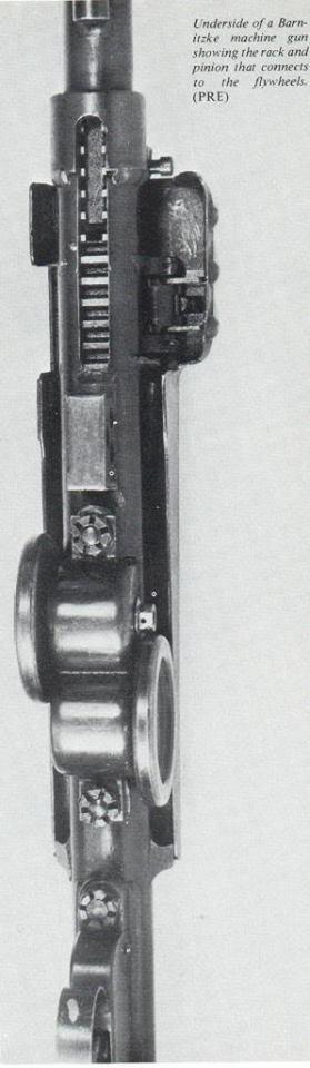 Необычный пулемет Виктора Барницке (конкурент MG-42)