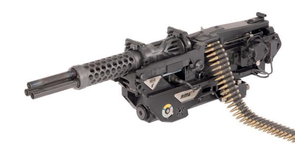 Перспективный трехствольный пулемёт RMG 7,62 (Германия)