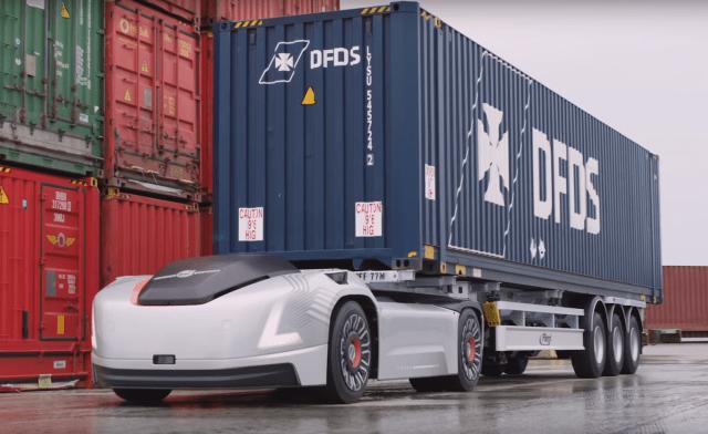 VERA: беспилотный грузовик от компании Volvo Trucks