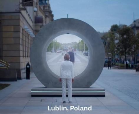 Между Литвой и Польшей открылся телевизионный портал (видео)