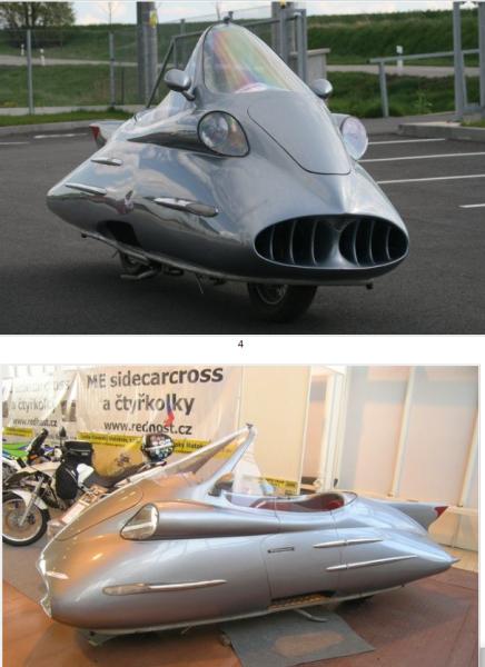 «Космический» мотоцикл из Праги и другие модели гиромобилей