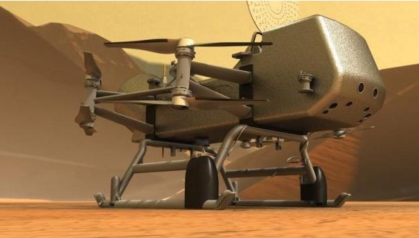 NASA отправит космический вертолет на спутник Сатурна Титан