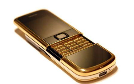 9. Gold Edition Nokia 8800