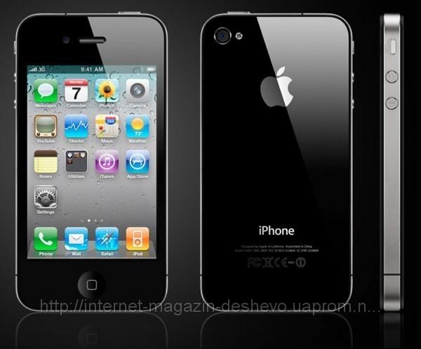 Копия IPhone G4 2 sim карты + TV