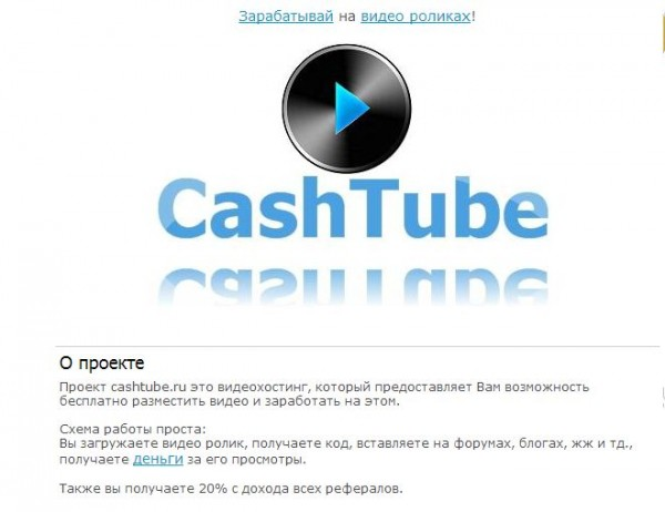 cashtube.ru