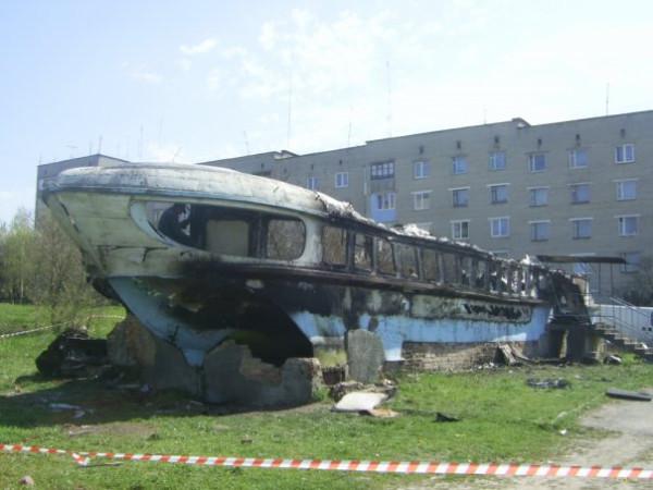 Сгоревшая Ракета - бар в Нововолынске