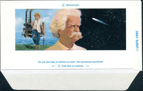 Макрк Твен и комета Галея