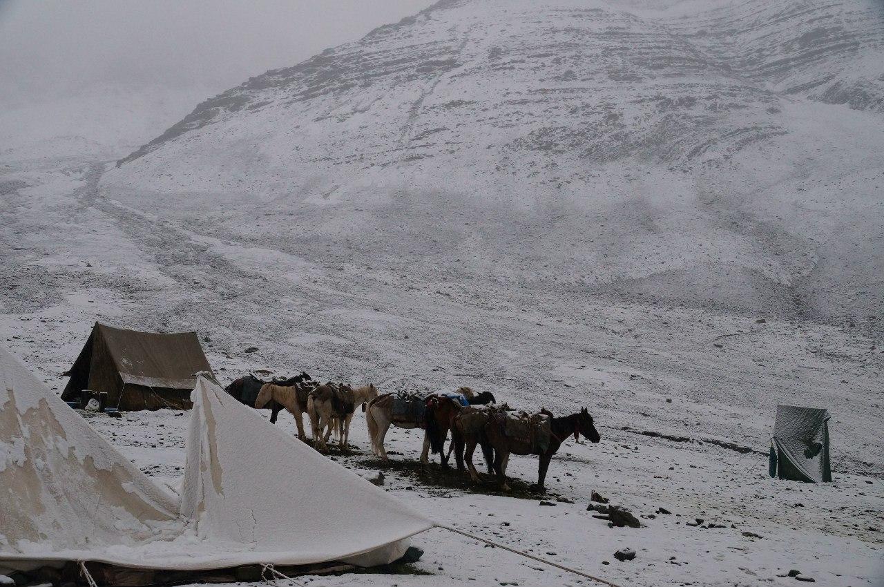 Stok kang ri base camp