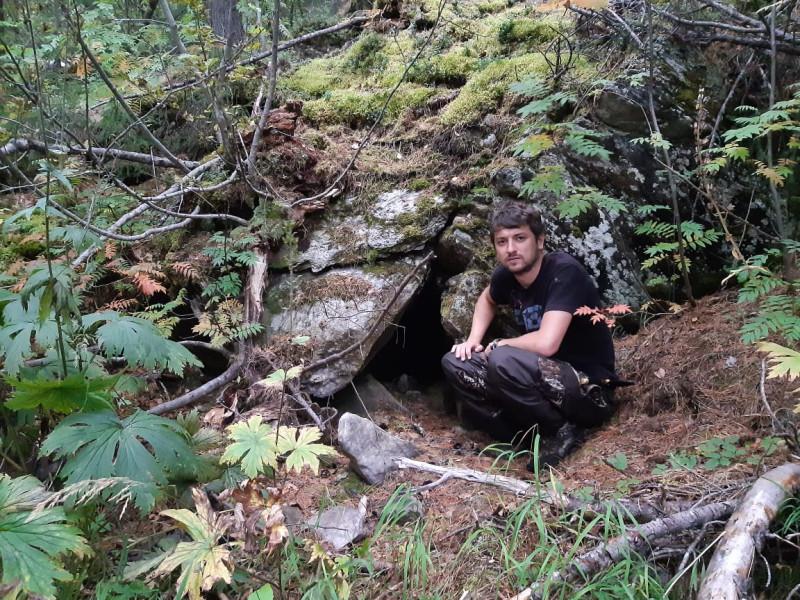 Вход в медвежью берлогу