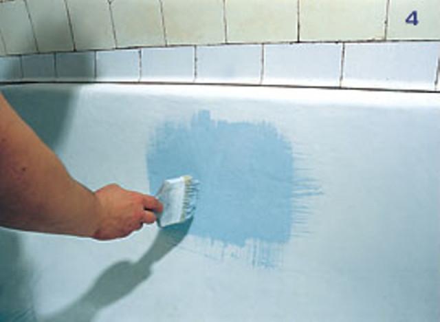 Как обновить эмаль в ванной своими руками