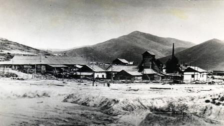 Старая промплощадка Зыряновского рудника