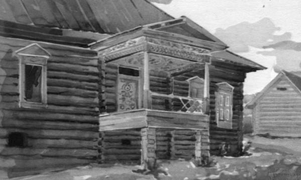 вход в дом дер.Фыкалка