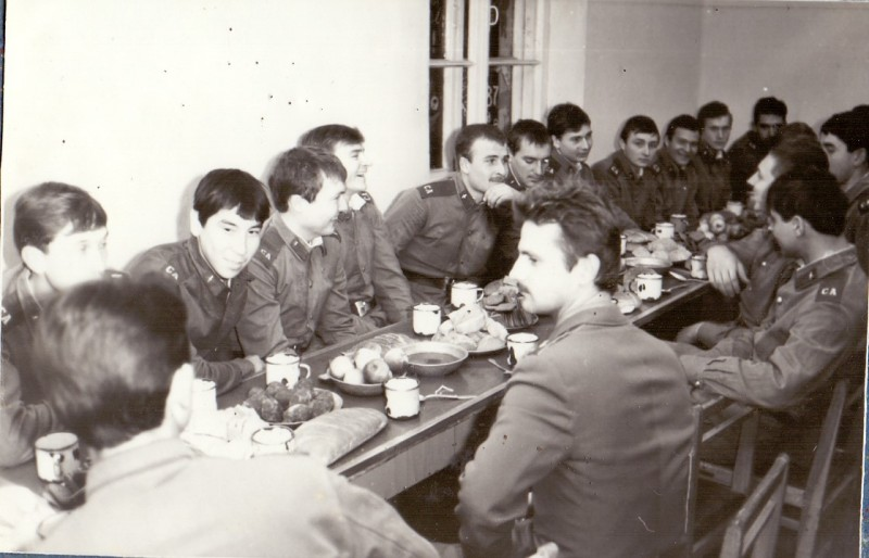 Встреча нового 1987 года.
