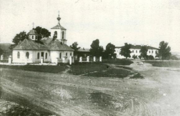 Троицкая церковь в крепости.