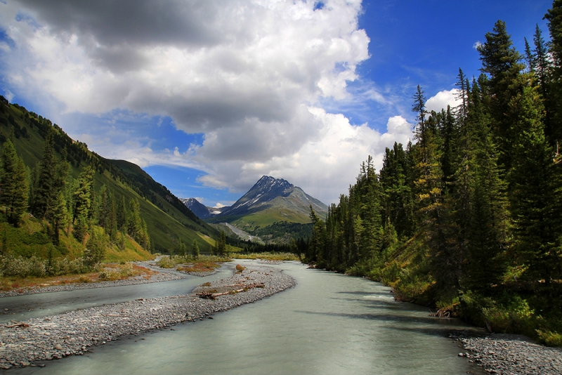 долина реки Белая Берель