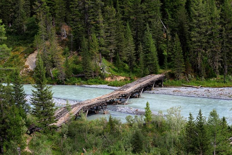 мост 1938 года на реке Белая Берель