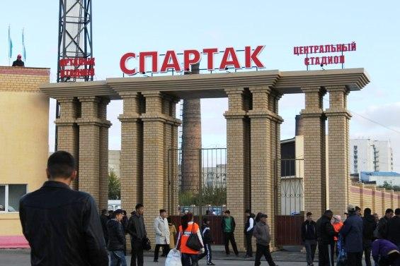 """""""Спартак"""" на кладбище."""