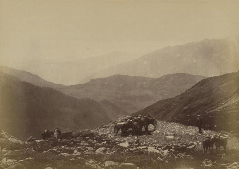 перевал между Черной и Белой Берелью