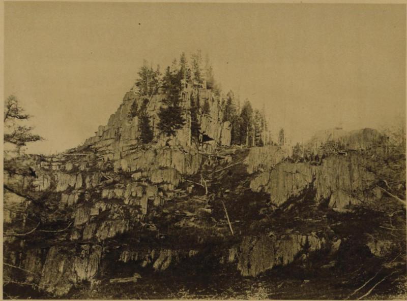 скала на Кокедаба