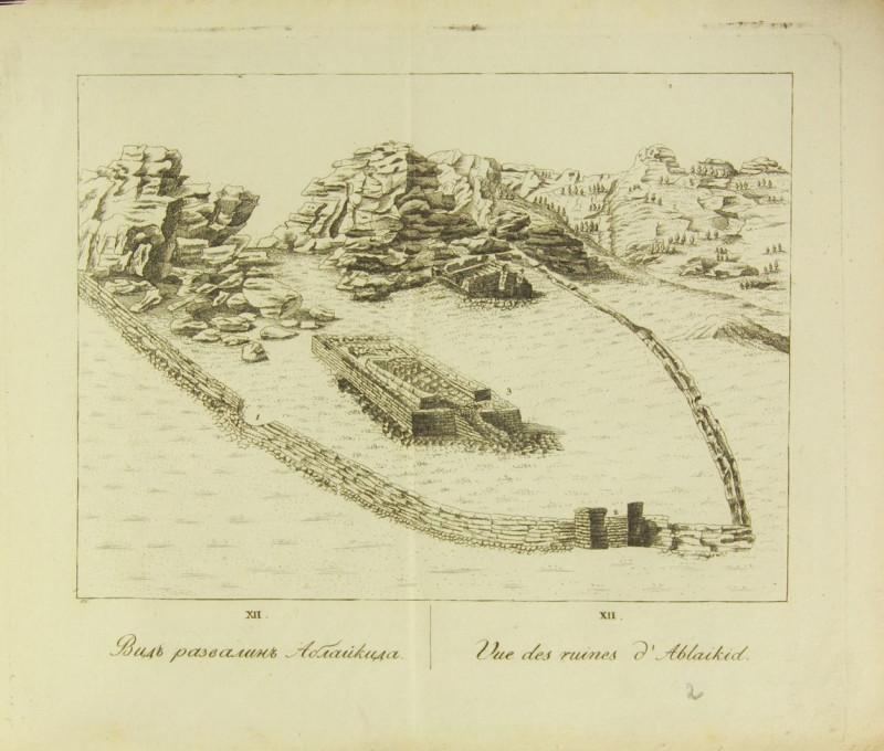 Аблайкит 1818 год