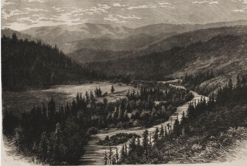 долина на Западном Алтае