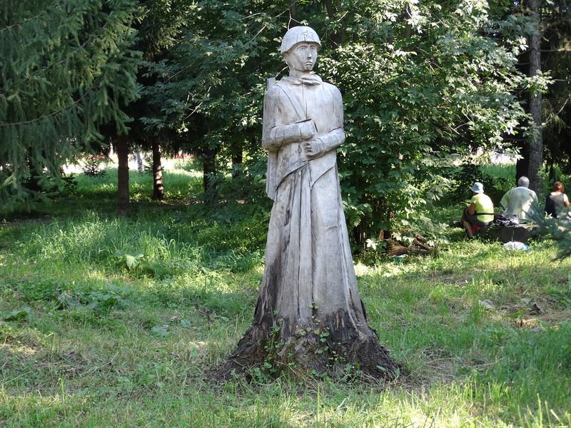 деревянный воин