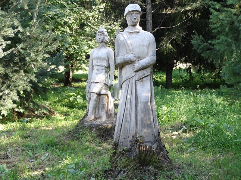 деревянные воины