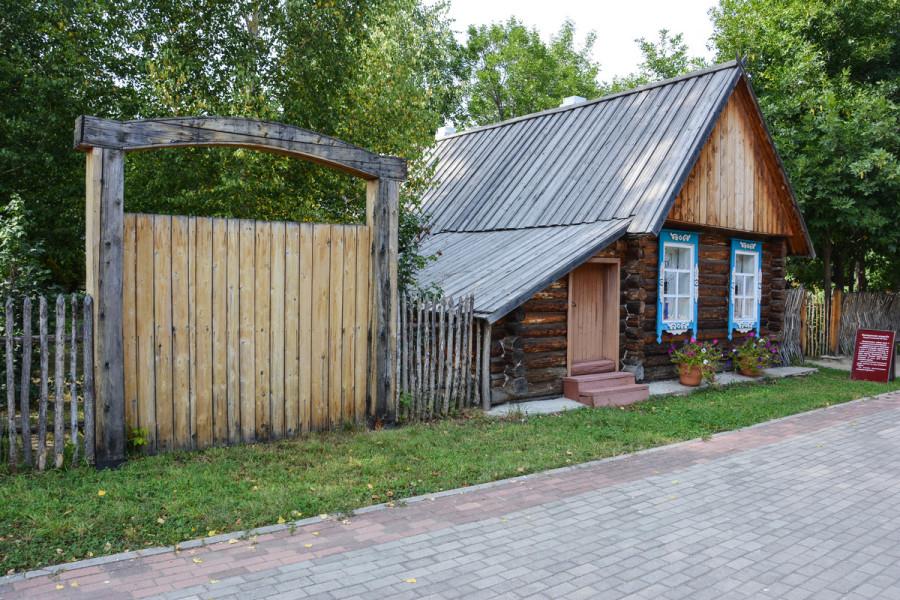 белорусская усадьба в этнодеревне