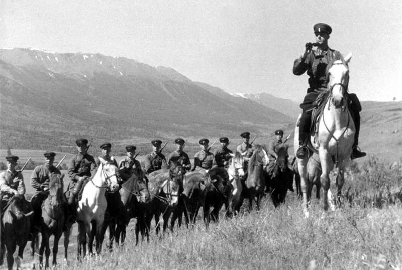 Август 1940. Катон-Карагайский район Восточный Казахстан.
