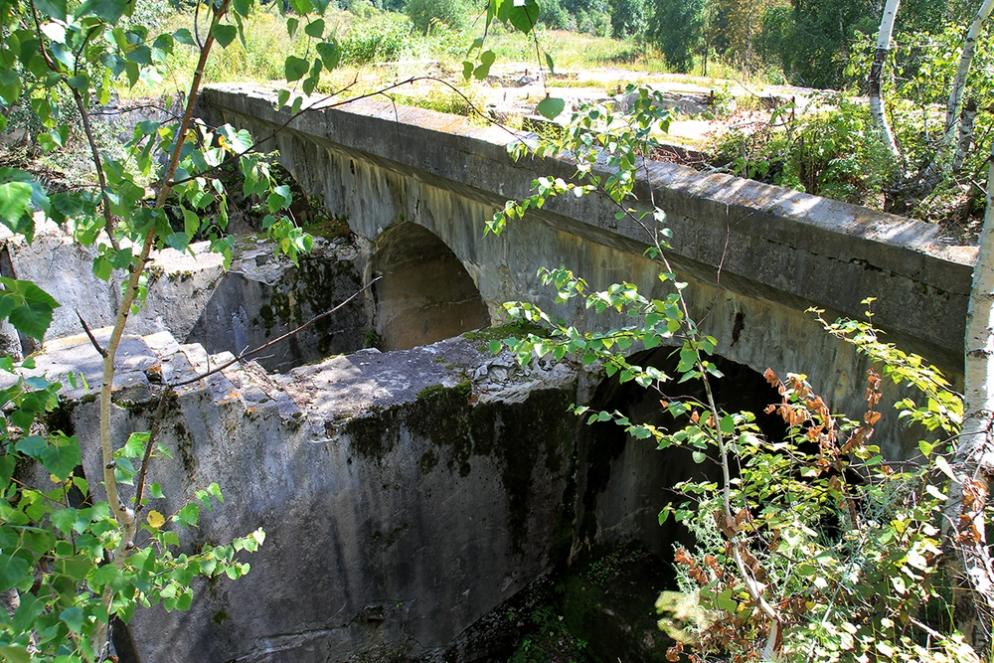 остатки французской ГЭС