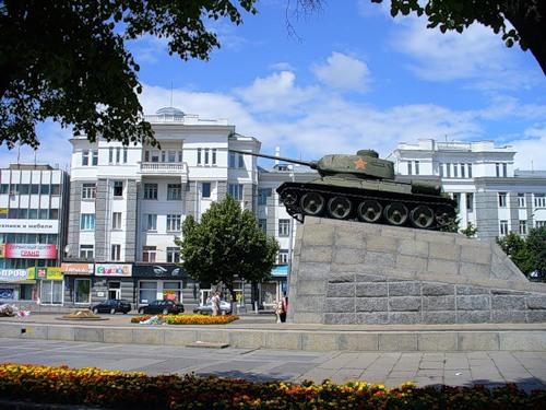 Сквер танкисто в Орле