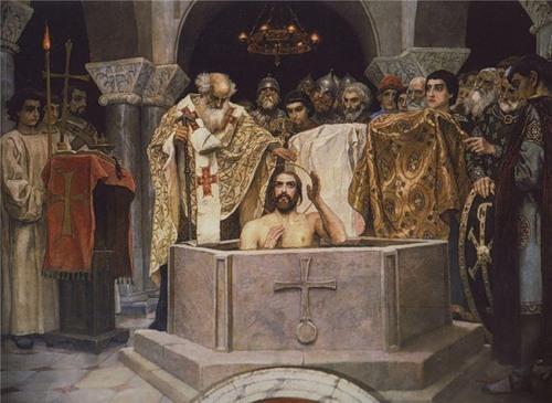 Крещение святого Владимира