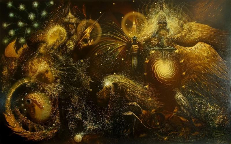 Пересвет, Ослябя и Пресветлый Мрак