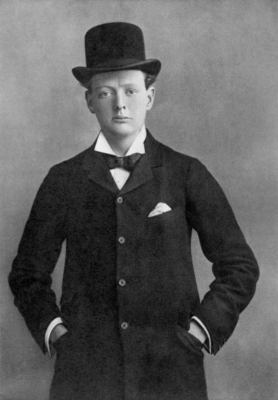 1899. Уинстон Черчилль в качестве кандидата от партии консерваторов в Олдхэме