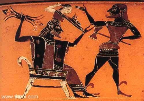 Зевс и Гефест