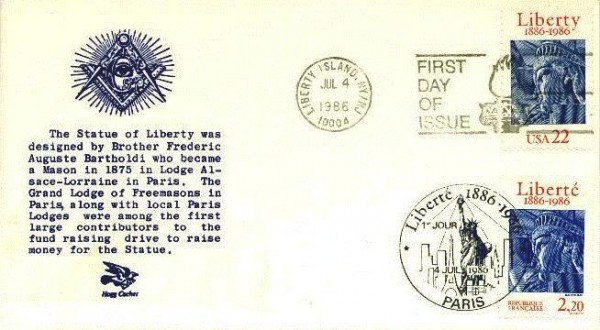 Statue_of_Liberty-masonic_first_day_cover