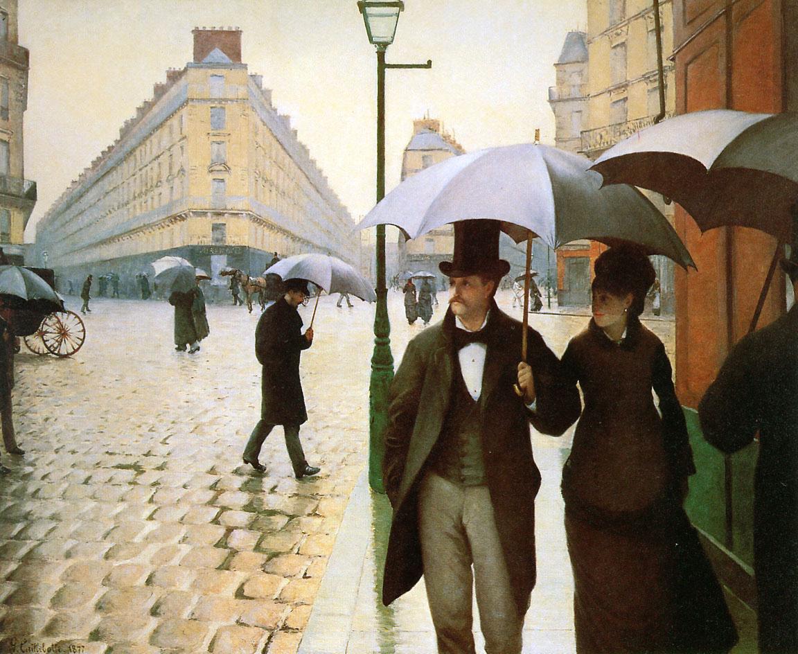 Caillebotte Gustave Paris place de