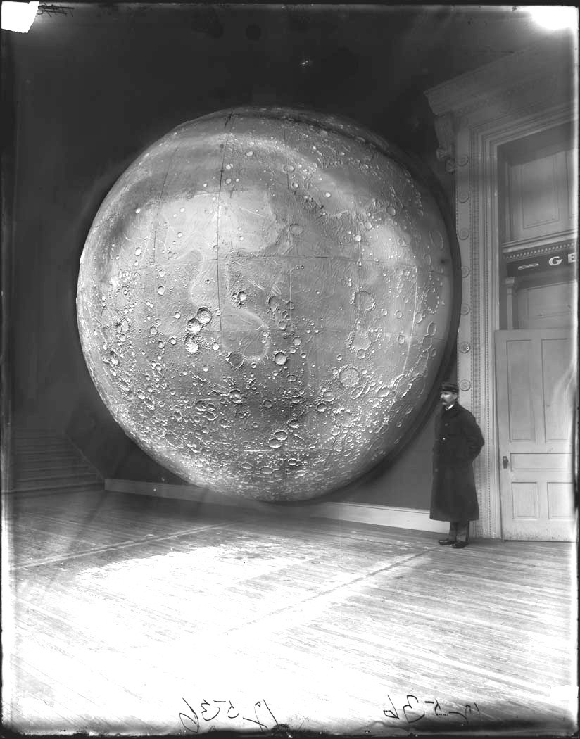 Model of the Moon, Field Columbian Museum, Chicago c1894