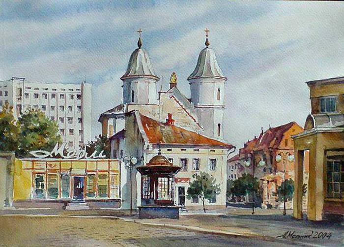 На площі Ринок Автор А. Мельник