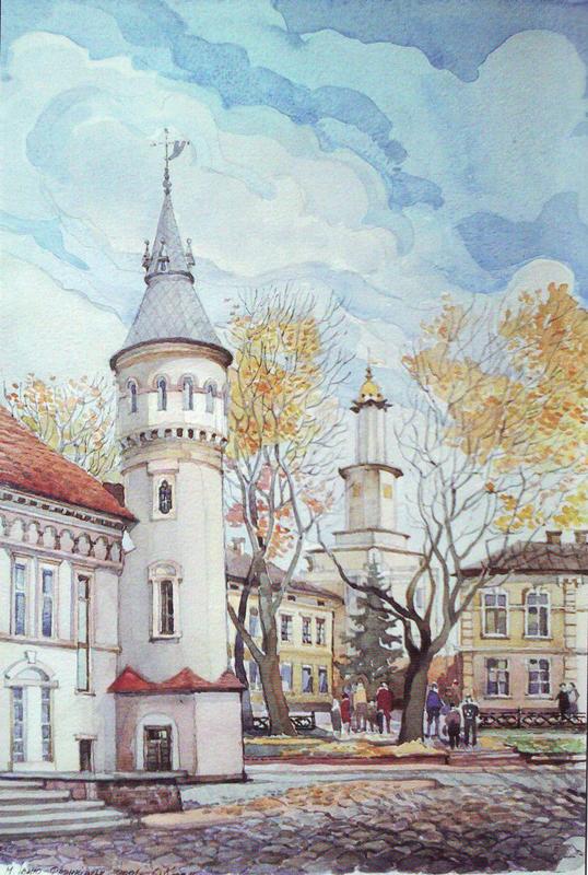 О,Козак - площа Міцкевича 2001