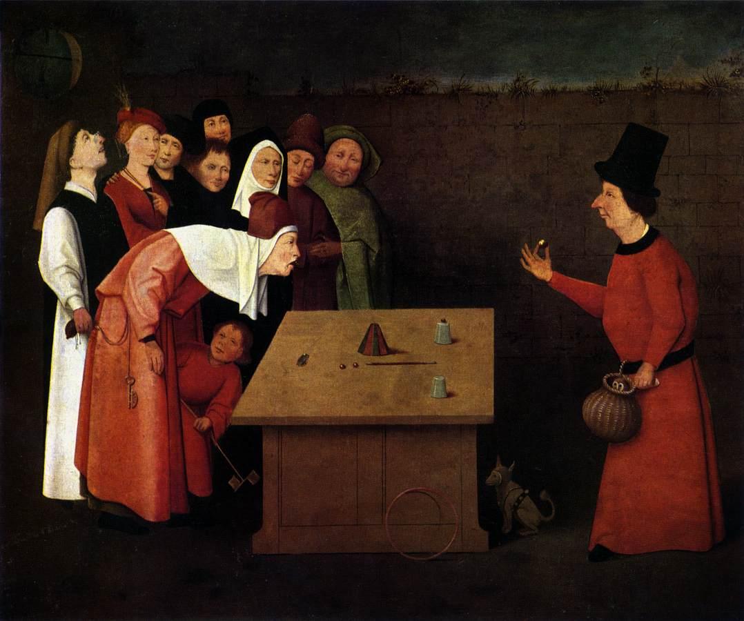 Ієронімус Босх - фокусник 1475