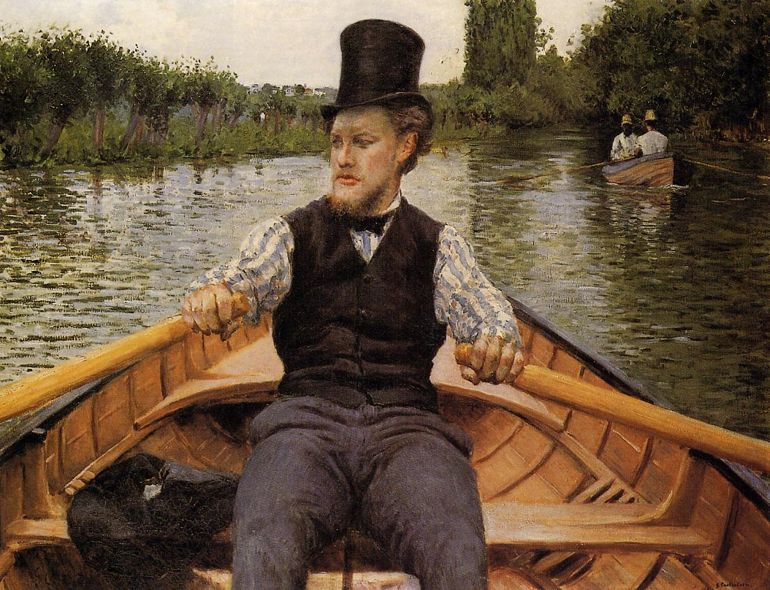 Гюстав Кайботт - Gustave Caillebotte 1848-1894  Boating Party - 1877