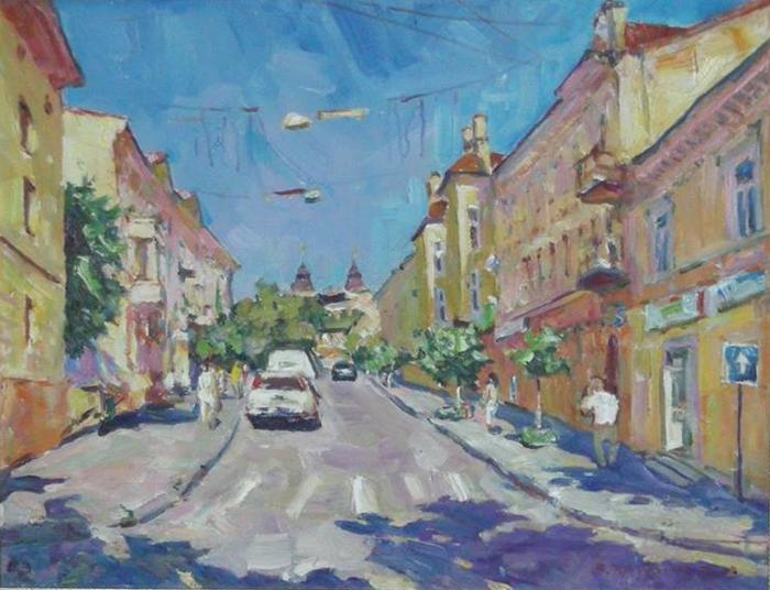 В. Красьоха. Вулиця Леся Курбаса 2009