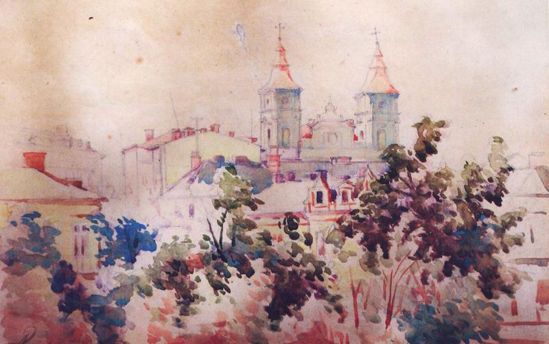 ярослав лукавецький - Катедра в Станиславові 1949