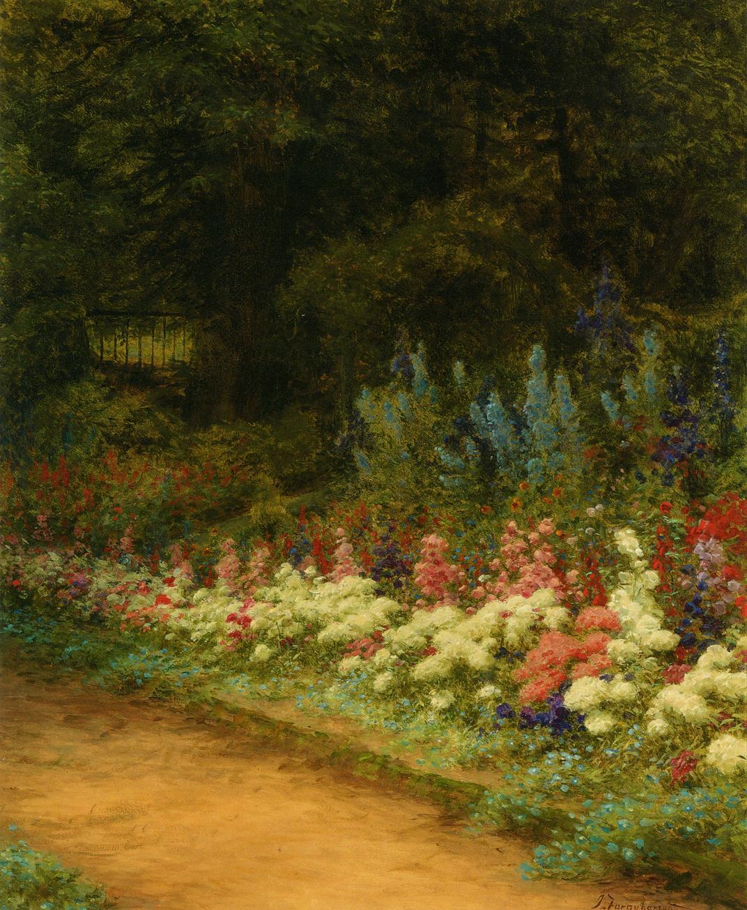 A Corner of My Garden' - Joseph Farquharson.