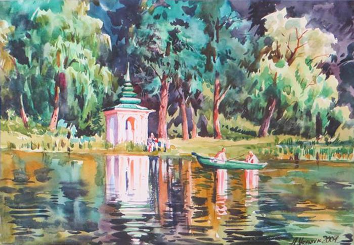 Анатолій Мельник - міське озеро, 2007