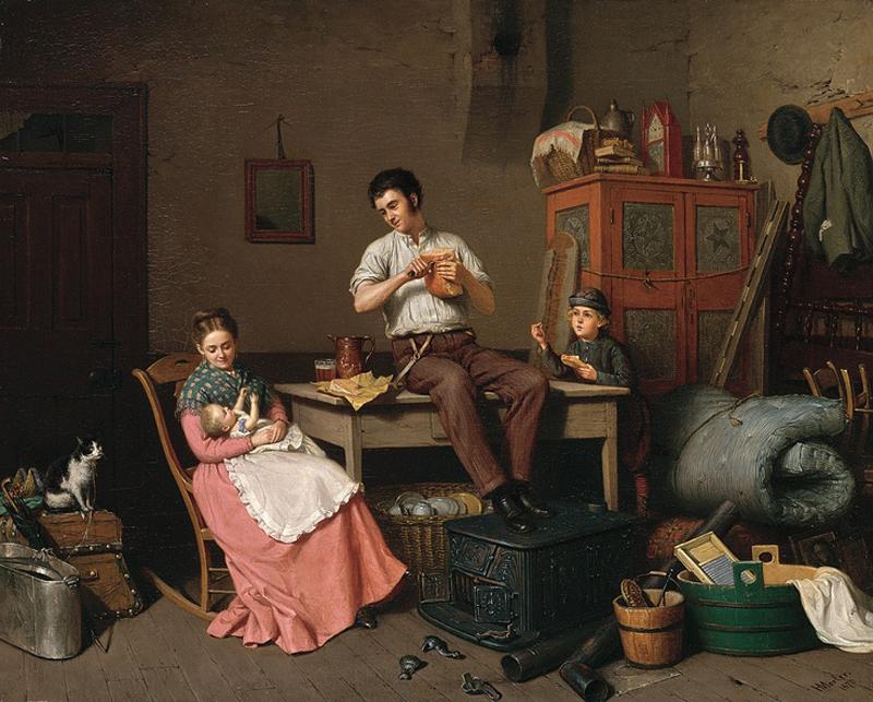 Henry Mosler - Just Moved [1870]