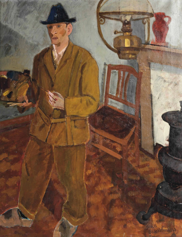 Jean Brusselmans  Self portrait (1921)